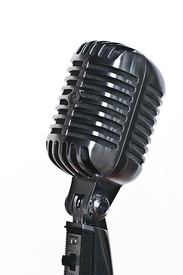 My Shure 55SH Series II Unidyne Vocal Microphone