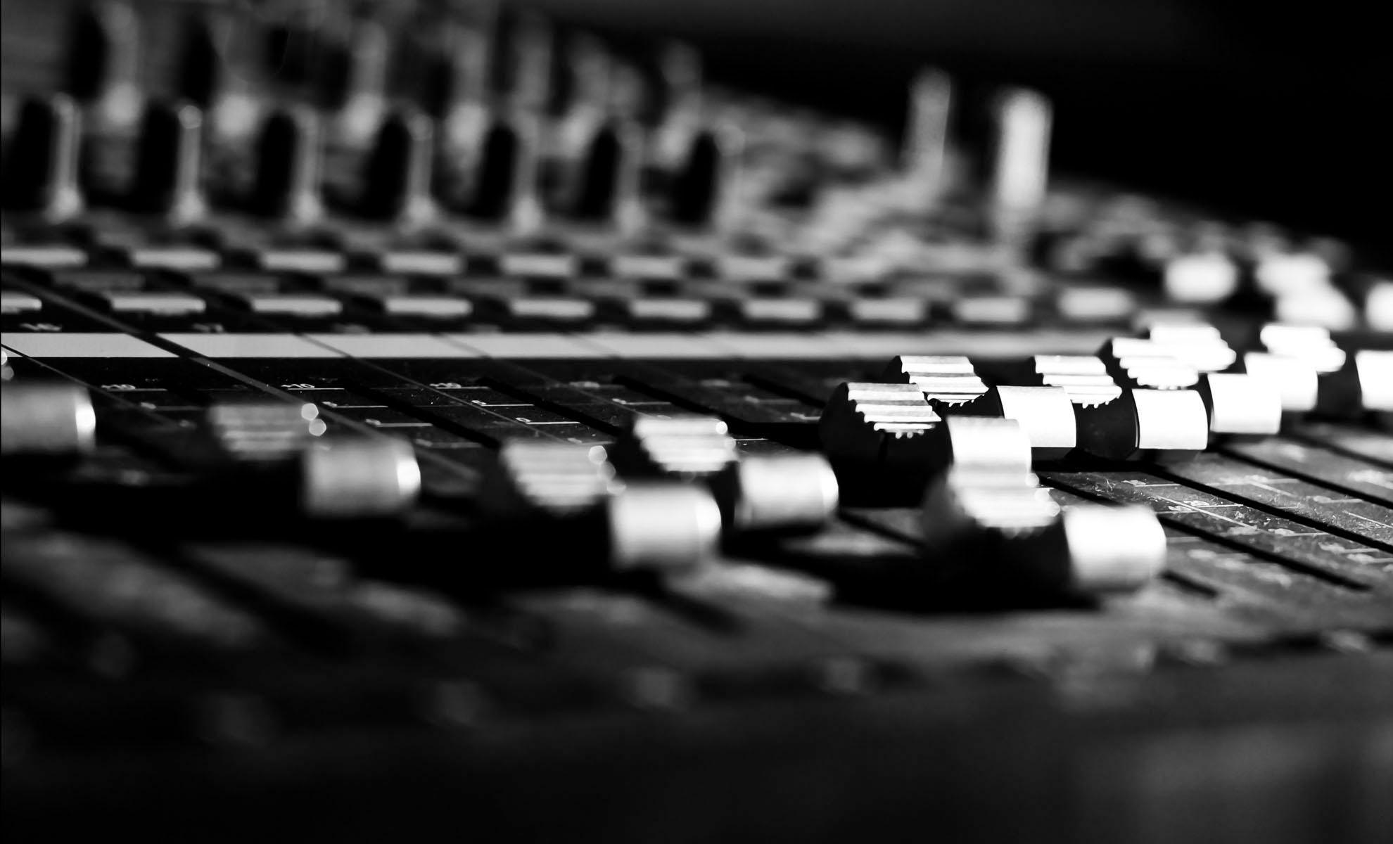 Music Studio Wallpaper 06