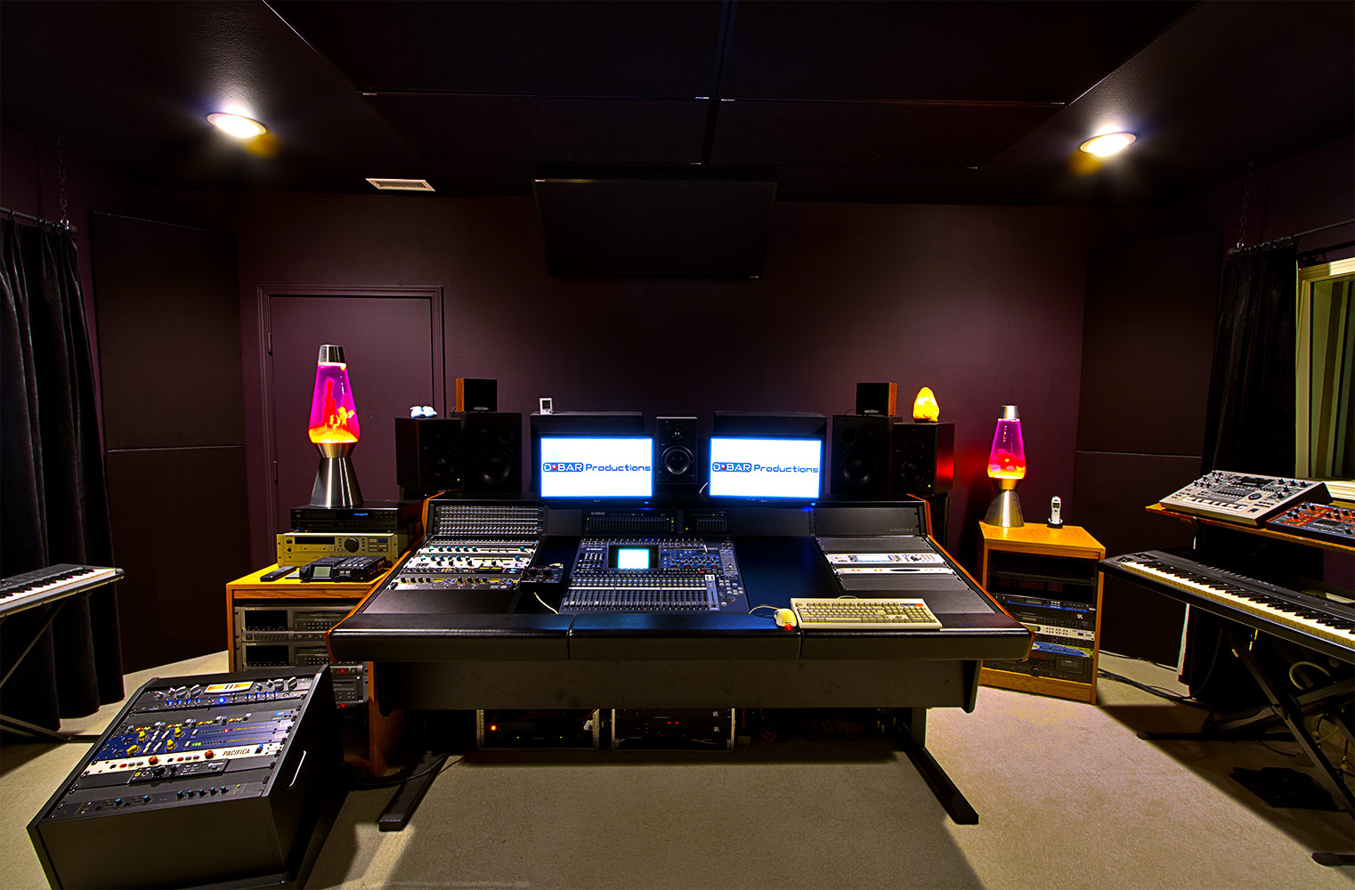 Wide shot of the control room – June 2012
