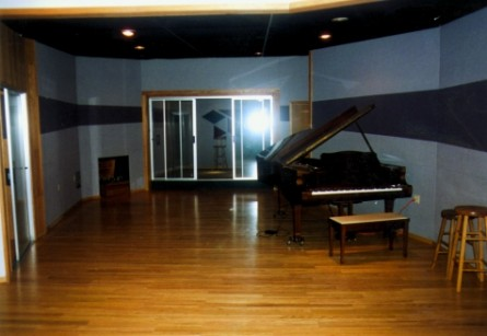 The Piano in Triad's Studio A