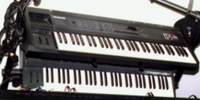Ensoniq Keyboards at the Eastlake Ave Studio