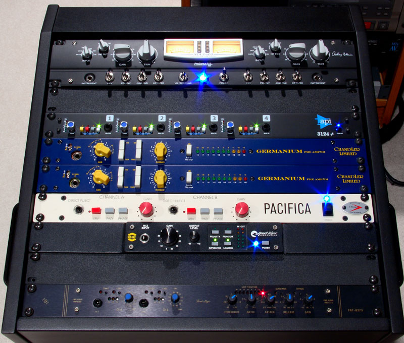 Great collection of Microphone Preamps