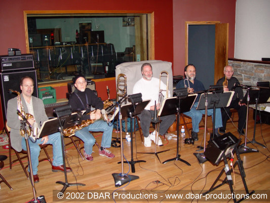 Greg's 5 piece horn section