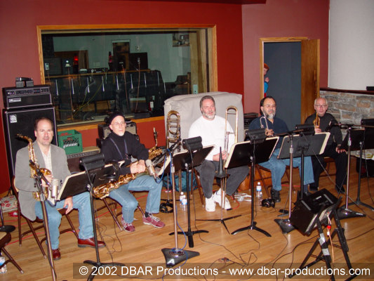 Greg Adams Big Band Recording