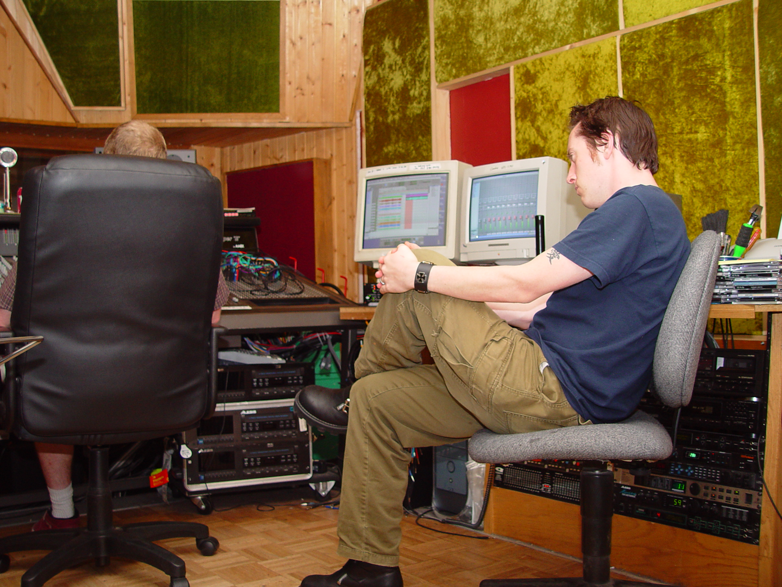 Tracking Drums at Jupiter for From The Icy Coast