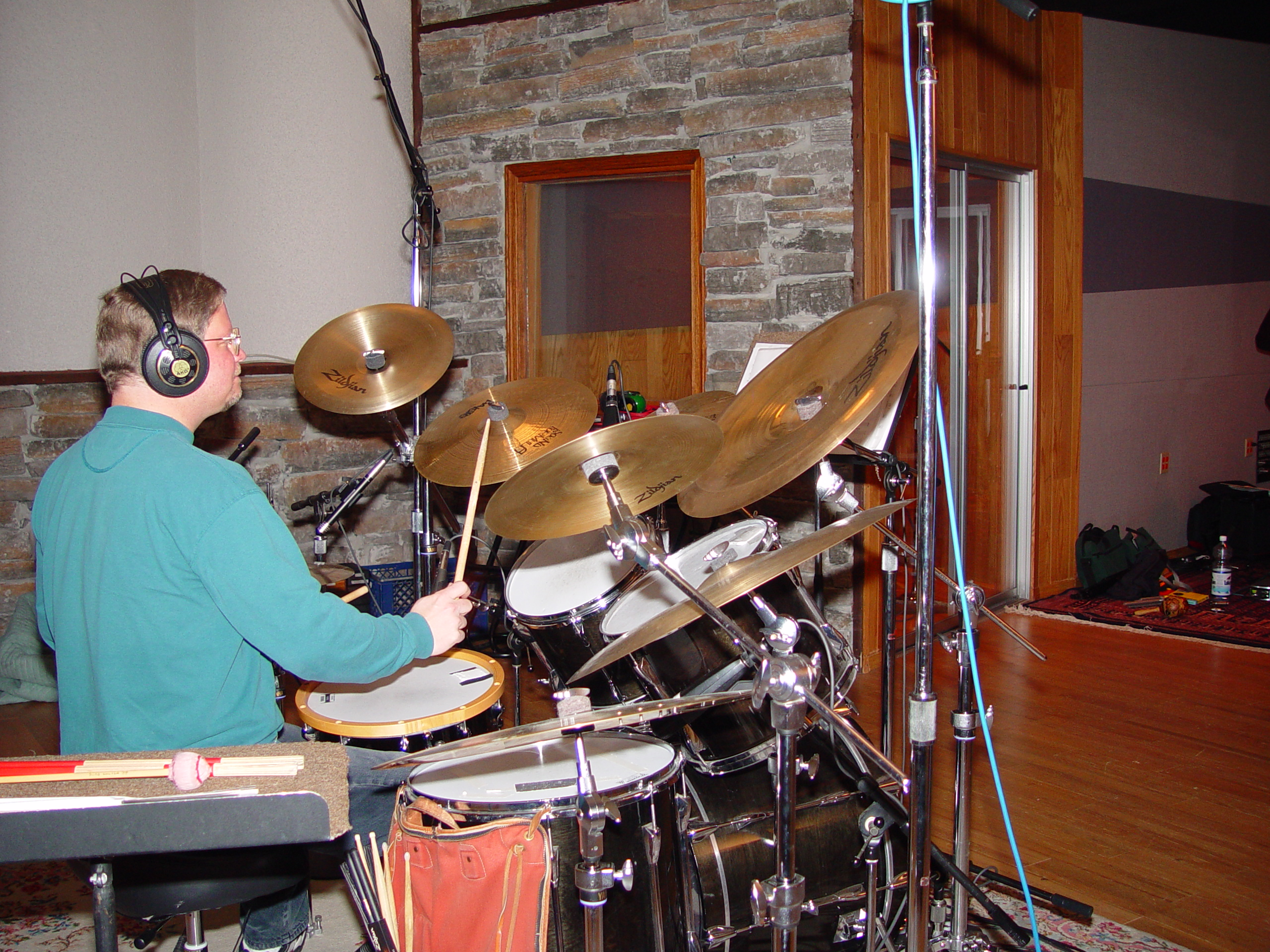 Drums at Triad Studios
