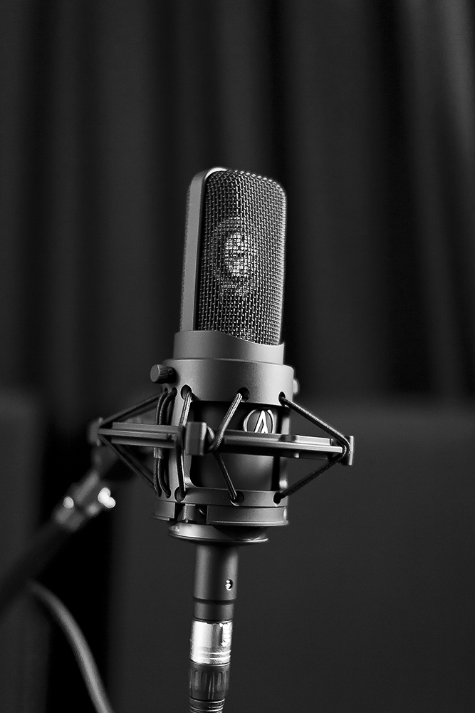 My Audio Technica AT4060 Tube condenser microphone
