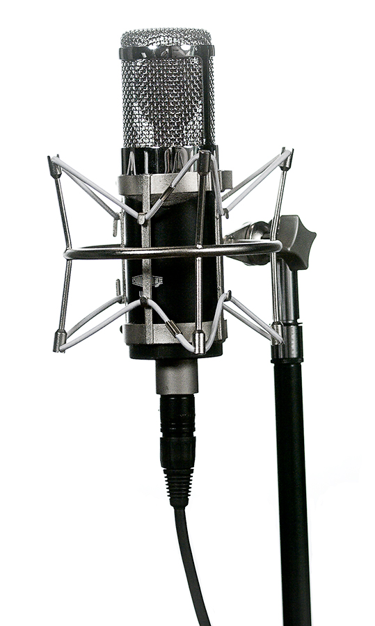 My Soundelux U195 large diaphragm condenser microphone