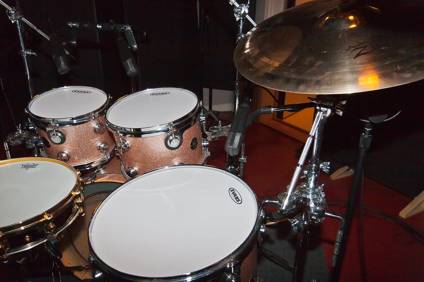 Ben Smith's drum kit