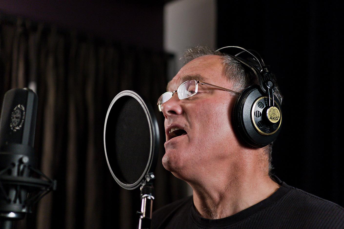 Larry Murante recording at DBAR Productions
