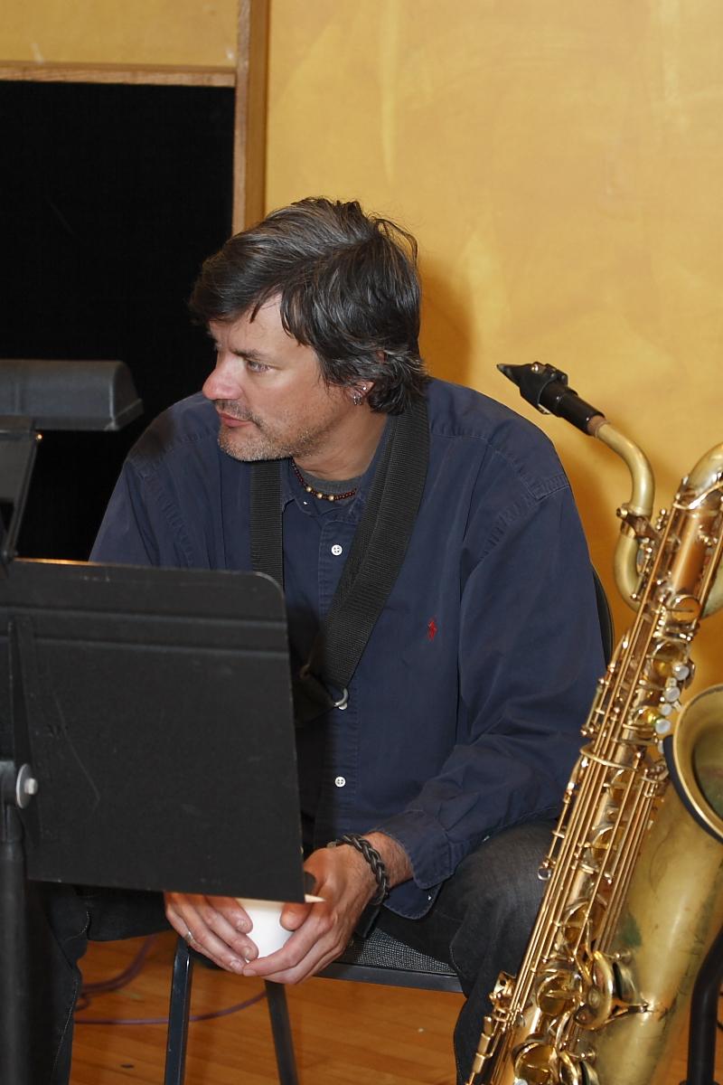 Greg Adams Horn Section at London Bridge Studio