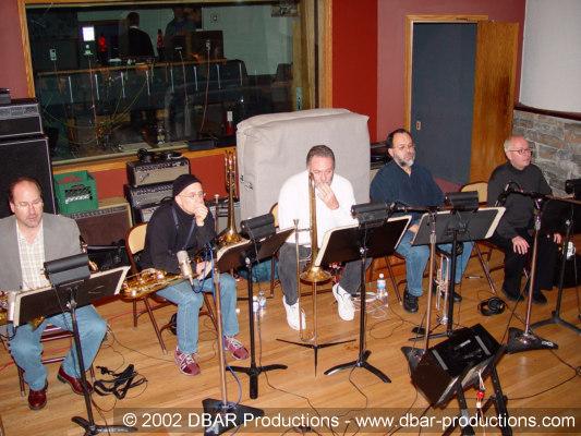 Greg's 5 piece horn section