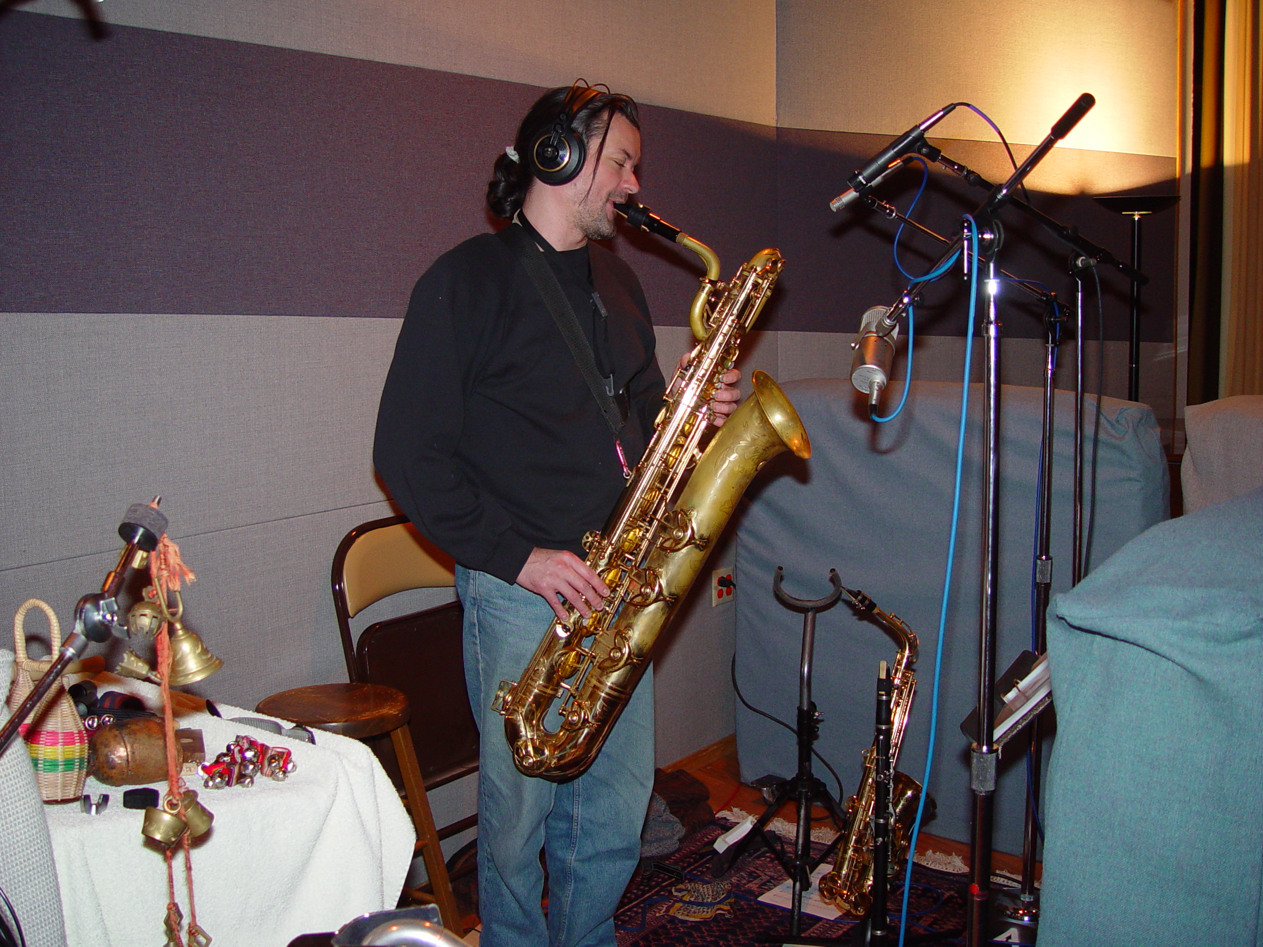 James DeJoie at Triad Studios