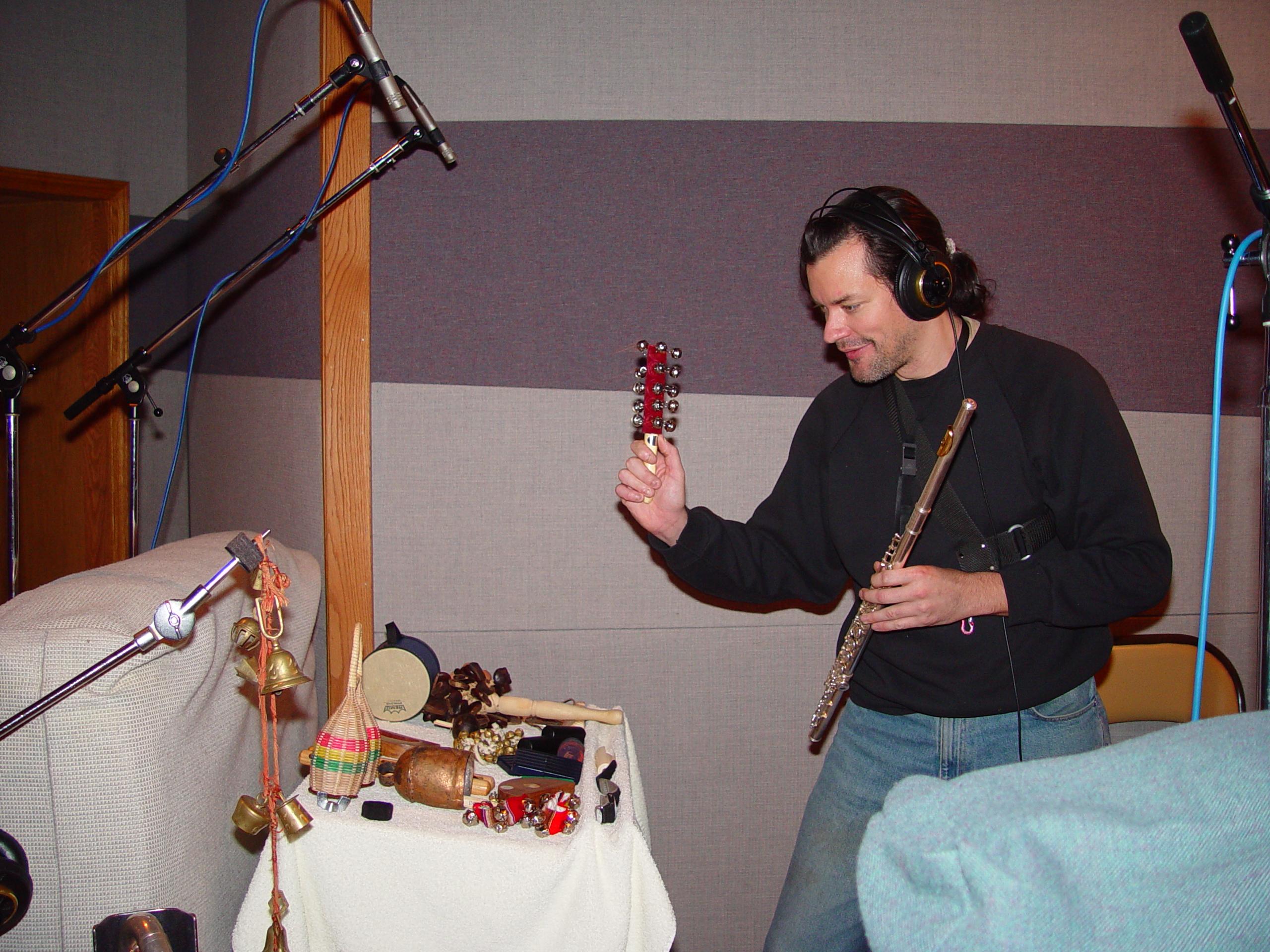 James plays everything!