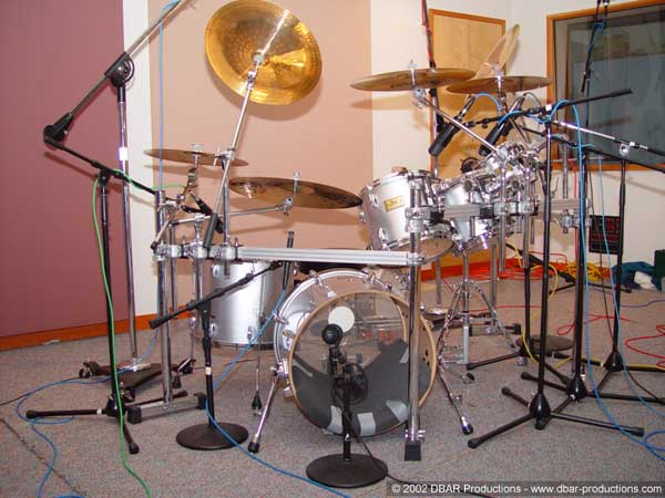Scott's drum setup