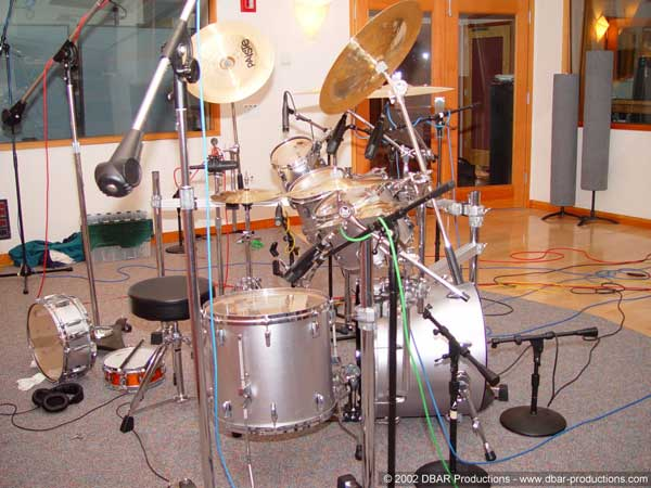 Scott's drum setup
